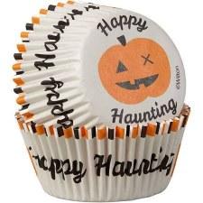 Halloween Baking- Cupcake Liners: Happy Haunting, 75ct