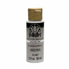 FolkArt 2 Oz. Acrylic Paint- Steel Grey