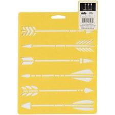 Stencil Mania 7x10 Stencil- Arrows