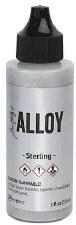 Ranger Alcohol Alloy Ink, 2oz- Sterling
