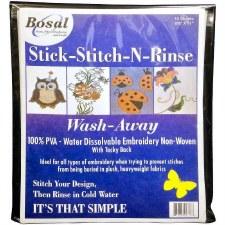 Bosal Stick-Stitch-N-Rinse