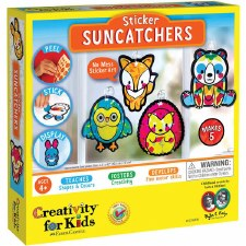 Creativity for Kids Craft Kit- Sticker Suncatchers
