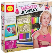 Alex Toys Craft Kit- Wood Jewelry
