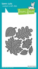 Lawn Fawn Craft Dies- Stitched Leaves