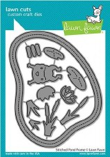 Lawn Fawn Stitched Frames Craft Dies- Pond