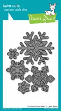 Lawn Fawn Craft Dies- Stitched Snowflakes