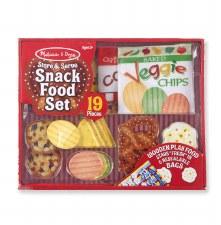 Melissa & Doug Food/Kitchen Play Set- Snack Food Set