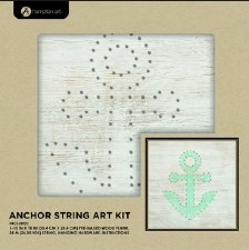 String Art DIY Kit- Anchor