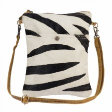 Myra Crossbody  Bag- Stripey Leather