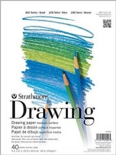 "Strathmore 200 Series 9""x12"" Drawing Pad, 40 Sheets"