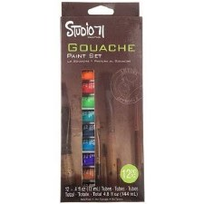Studio 71 Paint Sets- Gouache Set, 12pc