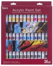 Studio 71 Acylic Paint Tube Set, 36pc