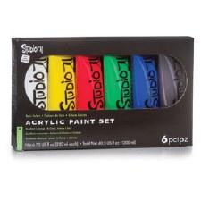 Studio 71 Acrylic Paint Set, 6pc- 200ml