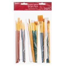 Studio 71 Artist Brush Value Pack, 25ct
