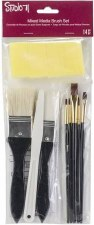 Studio 71 Brush Set- Mixed Media Brushes, 13pc