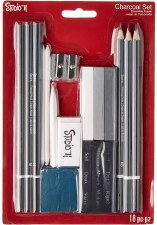 Studio 71 Charcoal Sketching Set, 18pc
