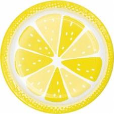 "Summer Citrus Paper Plates, 7""- 8ct"
