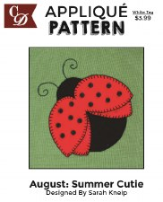 Applique Pattern- Summer Cutie