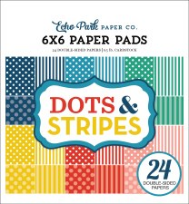 Dots & Stripes Summer 6x6 Paper Pad