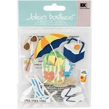 Jolee's Summertime Dimensional Stickers- Summer Gear