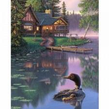 Nature & Wildlife Fabric Panel- Summer Memories