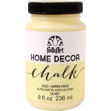 FolkArt Home Decor Chalk Paint 8 oz- Summer Porch