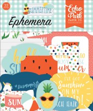Summertime Ephemera Die Cuts