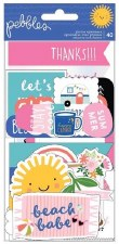 Sun & Fun Ephemera Die Cuts- Quotes