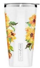 Imperial Pint 20oz Tumbler- Floral, Sunflower