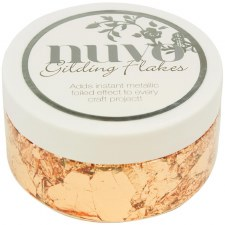 Nuvo Gilding Flakes- Sunkissed Copper