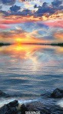 Nature & Wildlife Fabric Panel- Sunset Sail