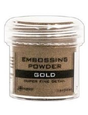 Embossing Powder- Gold Super Fine Detail