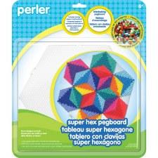 Perler Pegboards- Super Hex