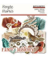 Ancestry Die Cuts- Bits & Pieces