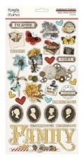 Ancestry Chipboard