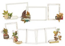 Simple Vintage: Autumn Splendor Layered Frames