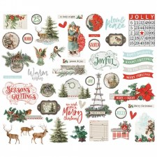 Simple Vintage: Country Christmas Bits & Pieces Die Cuts
