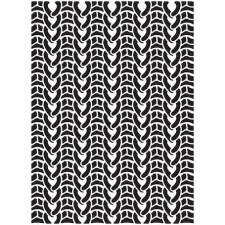 Darice Embossing Folder- Backgrounds- Sweater