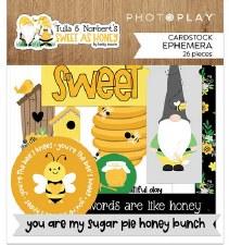 Tulla & Norbert's Sweet As Honey Ephemera Die Cuts