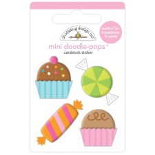 Hey Cupcake Doodle-Pops Stickers- Sweet Celebration
