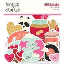 Sweet Talk Die Cuts- Bits & Pieces