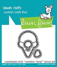 Lawn Fawn Sweetest Flavor Craft Dies