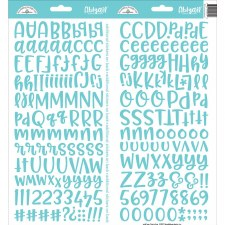 Abigail Alphabet Sticker- Swimming Pool