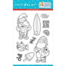 Tulla & Norbert's Excellent Adventure Clear Stamp Set