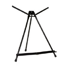 "Table Top Easel, 22""- Black Aluminum"