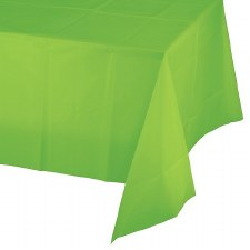 """Touch of Color Plastic Tablecover 54""""x108""""- Fresh Lime"""