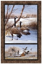 Nature & Wildlife Fabric Panel- Take a Gander
