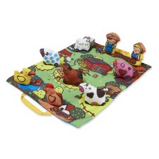 K's Kids Toys- Take Along Farm Play Mat