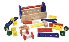 Melissa & Doug Wooden Toy- Take Along Tool Kit
