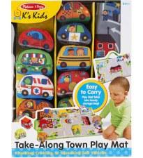 K's Kids Toys- Take-Along Town Play Mat